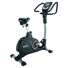 Exercise bike with a multi-grip handlebar