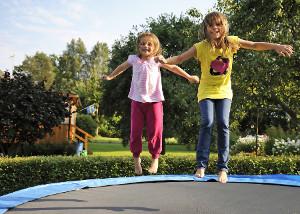 Trampolin - Spaß für Kinder
