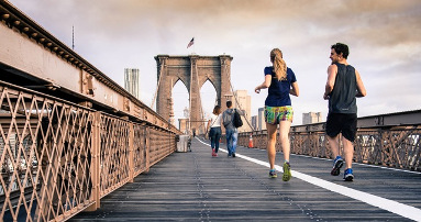 Fitnesstraining mit Pulsuhr
