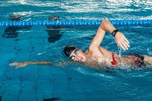Schwimmen mit Pulsuhr