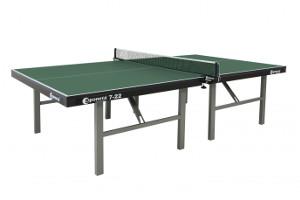 Indoor-Tischtennisplatte - volle Leistung beim Spielen